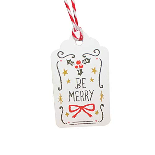 50 stücke Weihnachtskarte DIY LSAltd Weihnachten Einzigartiges Geschenk Tags Kleine Karte Optional String DIY Handwerk Label Party Decor Frohe Weihnachten