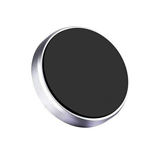 Nevter359 Handyhalter Multifunktionsmagnet Handy-Autonavigation,Mini Universal Magnetic Auto Auto Armaturenbrett Handy GPS-Halterungsständer Silver