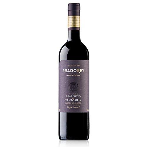 Pradorey Finca Real Sitio De Ventosilla - Vino Tinto - Gran Reserva - Ribera Del Duero - 95%tempranillo, 3% Cabernet Sauvignon, 2% Merlot - Elaborado Sólo En Añadas Excepcionales, 1999, 2004 Y 2009 - 1 Botella - 0,75 L