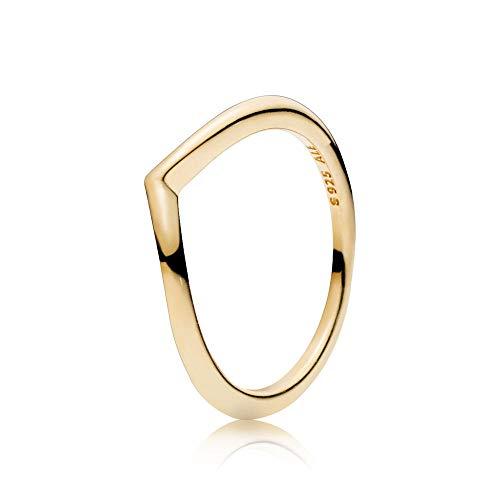 PANDORA Damen-Ringe Vergoldet mit \'- Ringgröße 54 166314-54