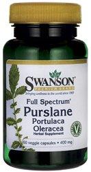 Swanson Full Spectrum Purslane 400mg, 60 Vegetarian Capsules Test