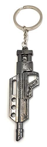 Onlineworld2013 Schlüsselanhänger Maschinenpistole Uzi Gun Metall Anhänger Charm (Spielzeug Uzi Gun)