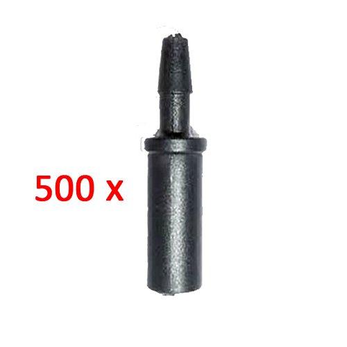 aliespain® Adaptateur gotero 1 sortie pour connecter Microtubo a goteros d'irrigation. Lot de 500