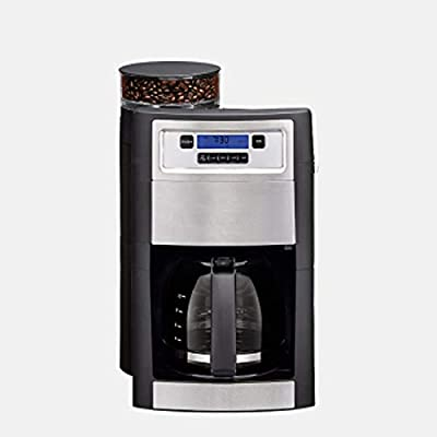 LJHA American coffee machine, drip coffee machine, pump coffee machine, automatic coffee machine, consumer and commercial coffee machine, soy milk, integrated coffee machine 250mm×280mm×385mm black from Made in Shanxi