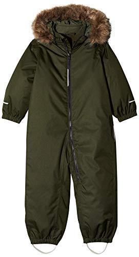 NAME IT Jungen NMMSNOW08 Suit SOLID 1FO NOOS Schneeanzug, Grün Rosin, (Herstellergröße: 110)