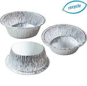 per forno tradizionale e microonde 100 Vaschette Alluminio Rotonde H 3,7cm Teglie rotonde alluminio monouso 100pz Cuki Expert /Ø 18,7cm