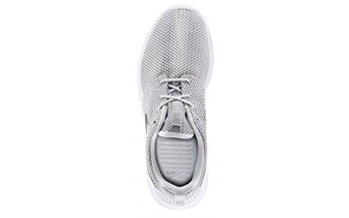 Nike Nike Rosherun, Baskets mode homme BIANCHE PLATINO