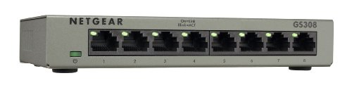 NETGEAR GS308-100UKS 8 Port Giga...