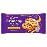 #4: Cadbury Crunchy Melts Soft Cookie Centre Crunchy Chocolate Chips Cookies with Soft Melting Centre, 156g