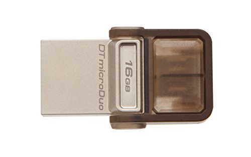 Kingston 16GB OTG On-The-Go Data Traveler MicroDuo 16 GB 2-in-1 Pendrive