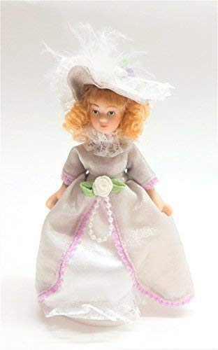 Melody Jane Casa de Muñecas Victoriana Pequeños Mujer Niña Miniatura Personas Porcelana LC