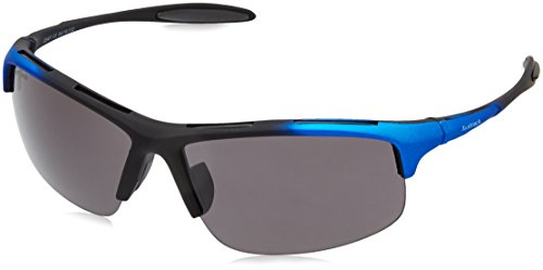 Fastrack UV Protected Sport Men\'s Sunglasses - (P354BK1|64|Smoke (Grey / Black) Color)