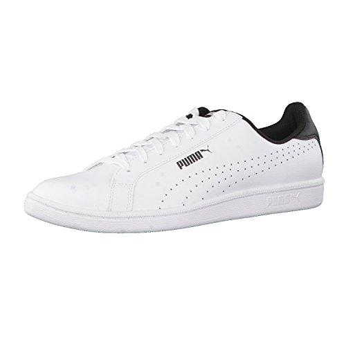 Puma Unisex-Erwachsene Smash Perf Sneaker Weiß (White-Black)