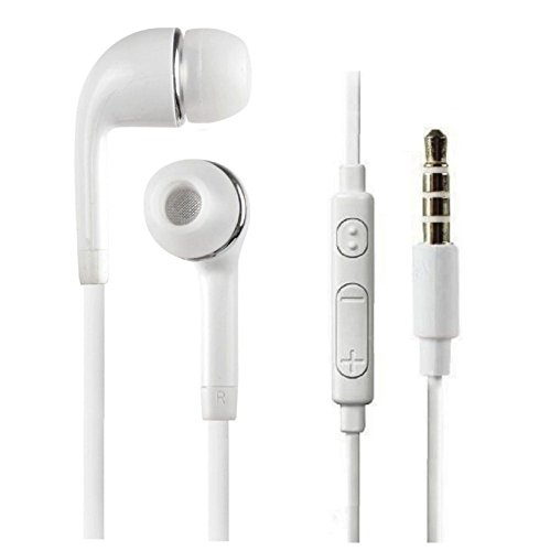 Samsung Metro Duos C3322 Compatible Wired Headphone/Earphone (white) In-ear Volume Controller and Music Controller for all Smartphones by aurra  available at amazon for Rs.249