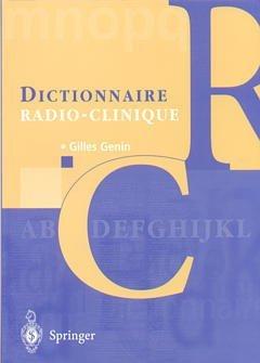Dictionnaire radio-clinique