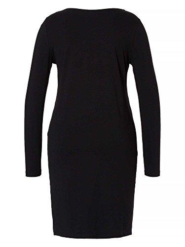 Sheego Casual Basic Kleid, Robe Femme Noir