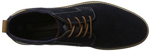 bugatti Herren 322165341400 Derbys Blau (Dark Blue)