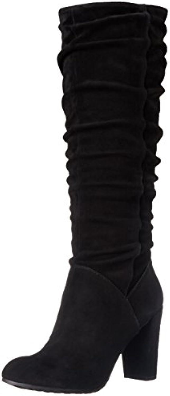 Nine West Shirly, Fashion Stiefel Frauen, Pumps rund, Leder
