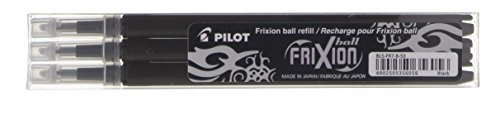 Pilot Refills for Frixion Rollerball 0.7 mm Tip - Blue, Pack of 3 Test