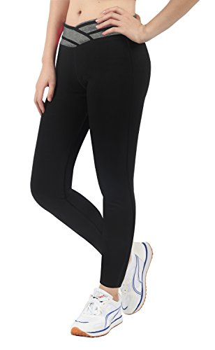 iLoveSIA - Leggings da donna Capri Leggings caviglia (solo gestito da Amazon) Classic Seamless Grey XL
