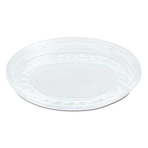 dart 1287 Nourriture Couvercle en plastique, panneaux non ventilés, Lg8r-0090 clair, (lot de 500)