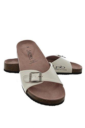 Sandali, nu les p'tites bombes piedi opaline, colore: bianco, Bianco (bianco), 41