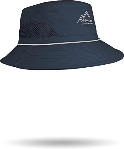 normani Outdoor Fischerhut Balance mit Hutband Farbe Blau Größe - Sumpf Mann Kostüm