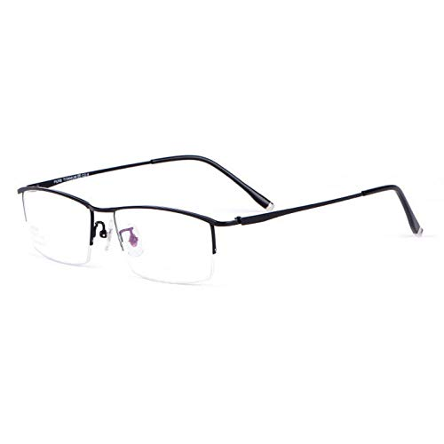 YMTP Brille Halbrand Brille Titan Rahmen Optische Linse Brillen Rahmen Brillen