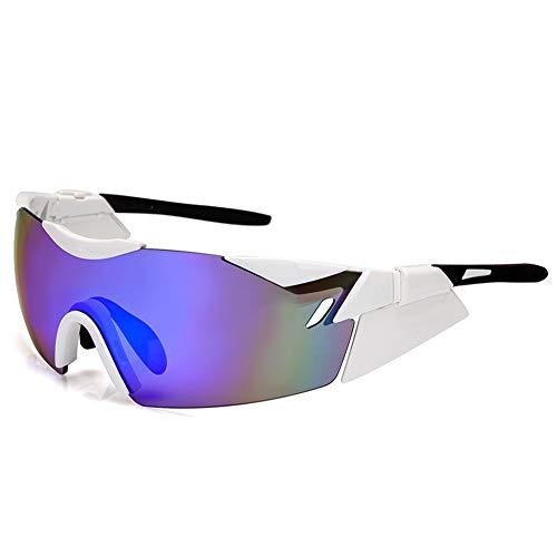 LAIABOR UV-Schutz-Radnachglasse-Mannschaft im Freien Winddichte Ultra-Lichts Sonnenbrille,B