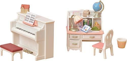 Sylvanian Families-5284 Set Piano 5284, Et Bureau, 5284, Piano Multicolore B076DG36RZ a65c8b