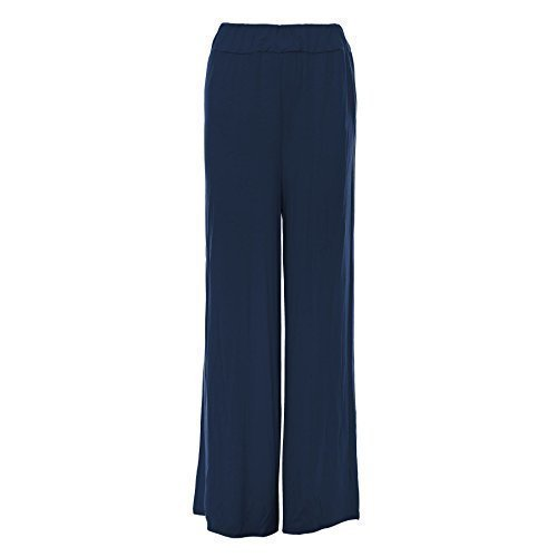 Womens Soft and Stretchy Wide Leg Palazzo Pants. Sizes 8 to 26 - many colours
