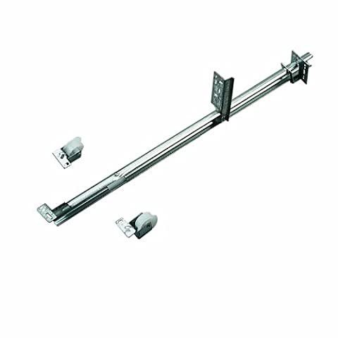 KNAPE & VOGT MFG CO - 24-Inch Zinc 50# Class 3/4-Inch Extension Under-Drawer Mounted Slide