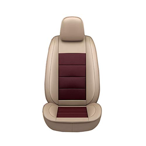Autositzbezug Autositzbezug All-Inclusive-Kuhfell-Sitzbezug für die BMW-Serie Autositzbezug Four Seasons Universal Sitzbezug Sitzkissen Leder-Sitzbezug (Farbe : D)