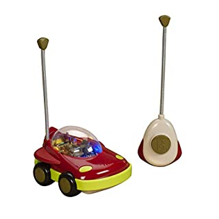 B toys by Battat - Space Car UFWhoa! - One Button Remote Control Light-Up Toy Space Car for Babies and Toddlers 1 year + (B00JHNVL9K)   Amazon Products
