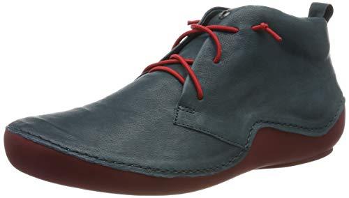 Think! Damen KAPSL_585060 Hohe Sneaker, Blau (Petrol/Kombi 92), 40 EU