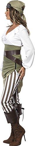 Matrosen-Zuckerpuppe Kostüm Oberteil Rock Leggings Kopftuch Gürtel und Überstiefel - 3