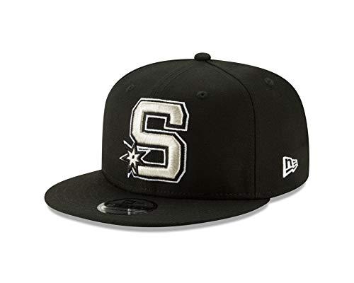 New Era Onc Bh19 950 Saaspu Cap Linie San Antonio Spurs, Herren, Black, One Size