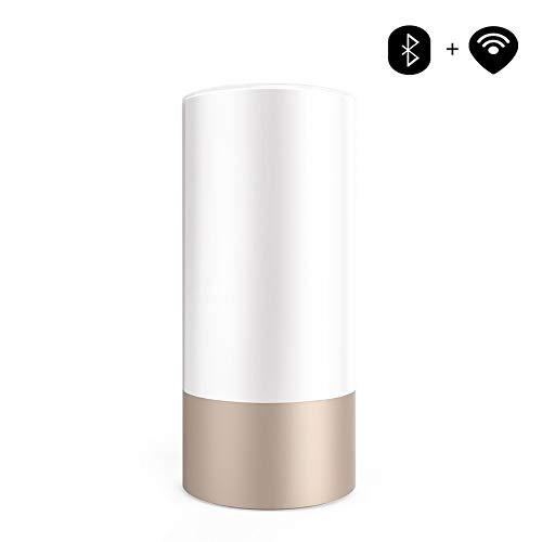 VOVOVO Intelligentes RGBW LED-Nachtlicht mit LEDs Touch Bluetooth-Steuerung 365 Bunte Nächte von WiFi Connection Update-Version