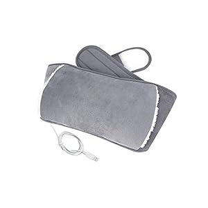 USB-Wärme-Gürtelpolster für den unteren Rücken, Wärmetherapie, Schmerzlinderung, Bauchmuskeln, tragbar, für Frauen