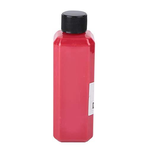 Painting Pigment, 100 ml Flasche Paket Kinder DIY Fluid Painting Spritzlack Mineralpigment Kinder Kunst Werkzeug zubehör(rot)