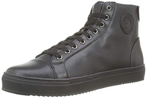 Gioseppo 56804, Zapatillas para Hombre, Negro, 41 EU