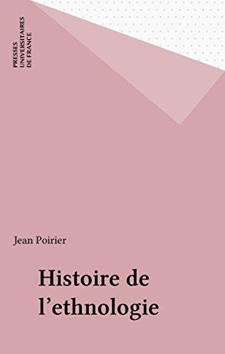 Histoire de l'ethnologie