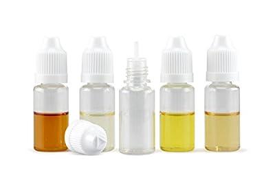 5 x PET Leerflasche für E-Liquid Shisha-Liquids, Base Kosmetika uvm. verschiedene Größen von rr-handel