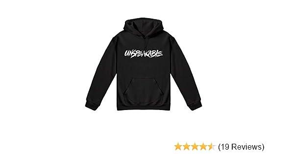 SMSTOGETHER Kids Black UNSPEAKABLE Hoodie