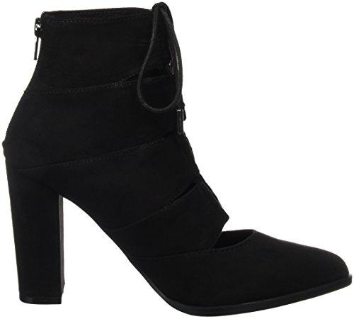 Bianco Laced Up Boot Son16, Escarpins femme Noir - Schwarz (Black/10)