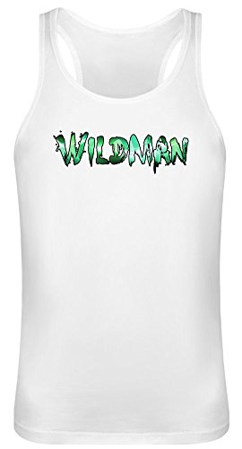 Wildman Tank Top T-Shirt for Men & Women - 100% Soft Cotton - High Quality DTG Printing - Custom Printed Unisex Clothing