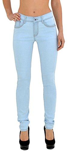 by- tex Damen Jeans Hose Damen High Waist Jeanshose Straight Leg Hochbund Hosen bis Übergröße 54, 56 #J23