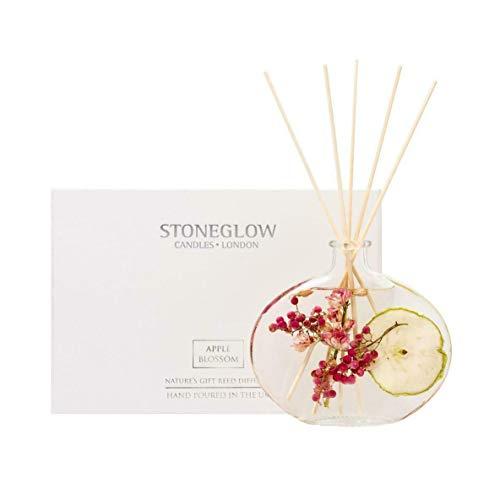 StoneGlow Nature's Gift-Diffusor mit Apfelblüte-Duftstäbchen 200ml -