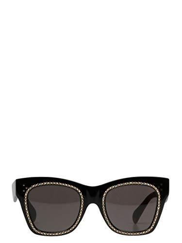 Céline Damen 4S004cpsm38no Schwarz Acetat Sonnenbrille