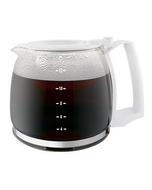 Proctor Silex 12-Cup Durable Replacement Carafe, White 88180Y by Proctor Silex